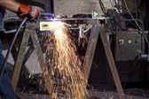 Fabbrica di acciaio — Foto Stock
