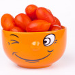 Orange bowl — Stock Photo