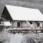 雪房子 — 图库照片