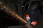 Indústria pesada — Fotografia Stock