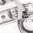 Dollar measure - Stock Photo