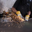 Metal grinding — Stock Photo #8415759