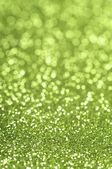 Green glitter — Stock Photo
