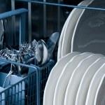 Inside a Dishwasher — Stock Photo