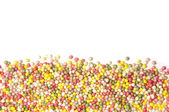 Sprinkles with copy space — Stock Photo
