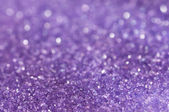 Purple sugar sparkle — Stock Photo