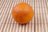 Een oranje — Stockfoto