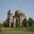 Stock Photo: Orthodox church under construction
