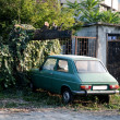 Little green car — Stock Photo #8355520