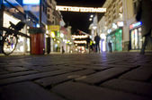 Night lights at amersfoort — Stock Photo