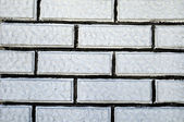 White brick on the wall — Stock Photo