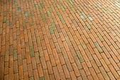 Rectangle and crossed concrete bricks — Stock Photo