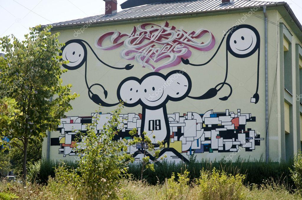граффити смайлики: