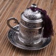 Turkish coffee cup — Stock Photo
