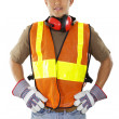 Construction worker — Stock Photo #8323924