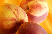 Luscious Peaches — Stock Photo