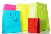 Multi-colored Bags — Stock Photo