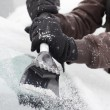 Photo: Ice scraper