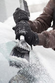Ice scraper — Stock Photo