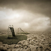 Lost childhood — Стоковое фото