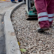 Repairing asphalt — Stock Photo