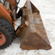 snowplough — Stock Photo