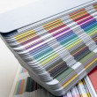 Stock Photo: Sampler of pantone colors