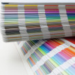 Sampler of pantone colors — Foto Stock