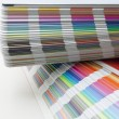 Sampler of pantone colors — Stock fotografie