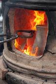 Pottery kiln — Stock Photo