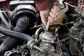 Engine check up — Stock Photo