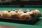 Poolspel (biljard — Stockfoto