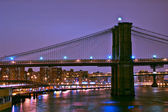 Bridge at sunset — Stock Photo