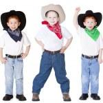 Three cowboys — Stock Photo #8324065