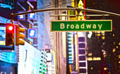 Signe de Broadway — Photo