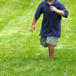 Stock Photo: Running boy