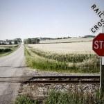 Railroad crossing — Stock Photo #8404540