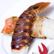 Stock Photo: Raw Lobster tails