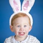 Easter bunny boy — Stock Photo #8405686