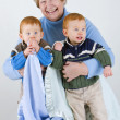 Happy Grandmother — Stockfoto