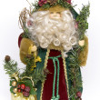 Stock Photo: Traditional father christmas doll