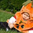 Stock Photo: Halloween baby