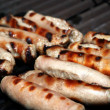 Stock Photo: BBQ sausages