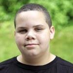 Latino boy portrait — Stock Photo #8408710