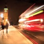 Westminster Bridge in London — Stock Photo