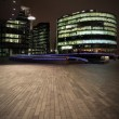Offices by night - Stock Photo