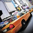 New York cab — Stock Photo