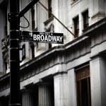 Broadway sign — Stock Photo #8409021