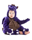 Baby boy in costume — Stock Photo