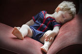 Sleeping boy — Stock Photo